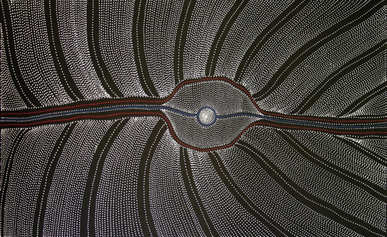 Anna Price Petyarre (Pitjara) My Country Australian Aboriginal Art Painting on canvas AP1755