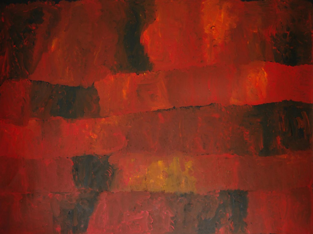 Kudditji Kngwarreye My Country Australian Aboriginal Art Painting on canvas KK1663