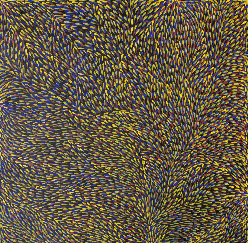 Gloria Petyarre Bush Medicine Leaves Australian Aboriginal Art Painting on canvas GP1940