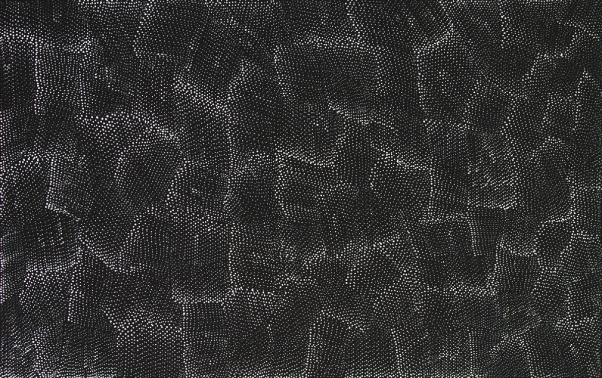 Lily Kelly Napangardi Tali Sand Hills Australian Aboriginal Art Painting on canvas LK1913