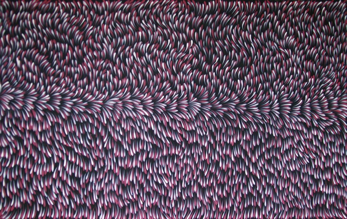 Gloria Petyarre Bush Medicine Leaves Australian Aboriginal Art Painting on canvas GP1728