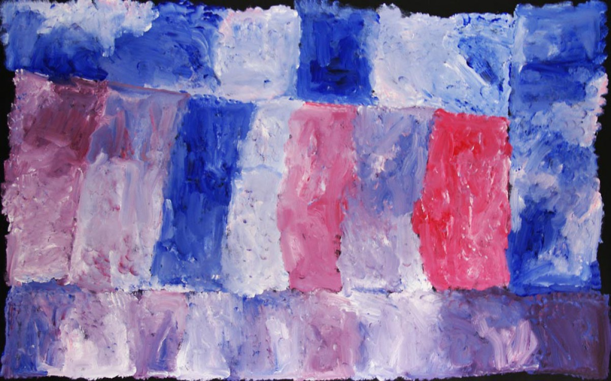 Kudditji Kngwarreye My Country Australian Aboriginal Art Painting on canvas KK1664