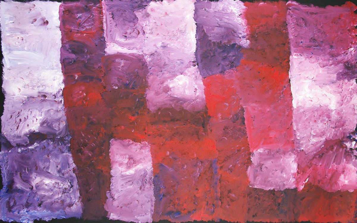 Kudditji Kngwarreye My Country Australian Aboriginal Art Painting on canvas KK1665