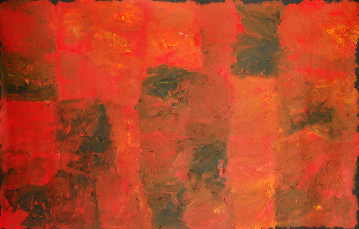 Kudditji Kngwarreye My Country Australian Aboriginal Art Painting on canvas KK1666