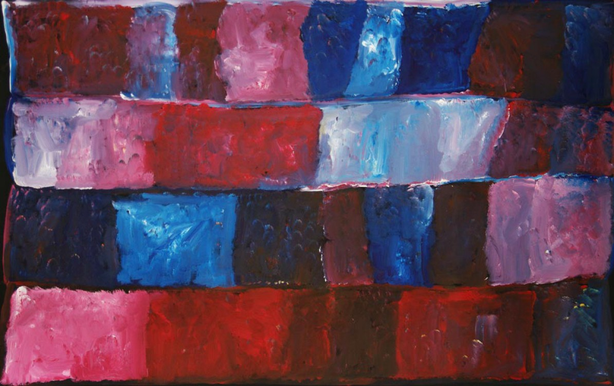 Kudditji Kngwarreye My Country Australian Aboriginal Art Painting on canvas KK1670