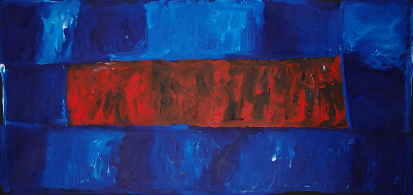 Kudditji Kngwarreye My Country Australian Aboriginal Art Painting on canvas KK1665