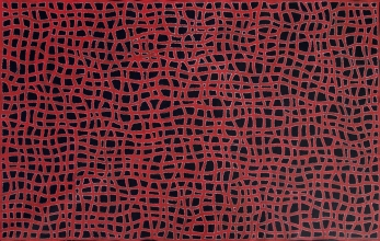 Abie Loy Kemarre Women's Body Paint Australian Aboriginal Art Painting on canvas AL1937