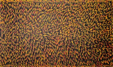 Gloria Petyarre Bush Medicine Leaves Australian Aboriginal Art Painting on canvas GP1788