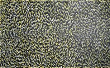 Gloria Petyarre Bush Medicine Leaves Australian Aboriginal Art Painting on canvas GP1809