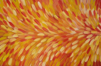 Gloria Petyarre Bush Medicine Leaves Australian Aboriginal Art Painting on canvas GP1831