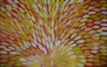 Gloria Petyarre Bush Medicine Leaves Australian Aboriginal Art Painting on canvas GP1852