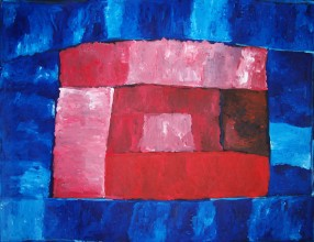 Kudditji Kngwarreye My Country Australian Aboriginal Art Painting on canvas KK1716