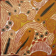 Ningura Napurrula Women's Ceremony Australian Aboriginal Art Painting on canvas NN1722