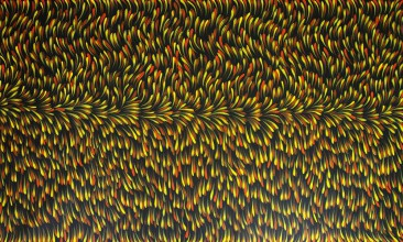 Gloria Petyarre Bush Medicine Leaves Australian Aboriginal Art Painting on canvas GP1610