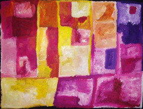 Kudditji Kngwarreye My Country Australian Aboriginal Art Painting on canvas KK1605