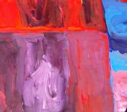 Aboriginal Art Painting on canvas by Kudditji Kngwarreye My Country KK1694