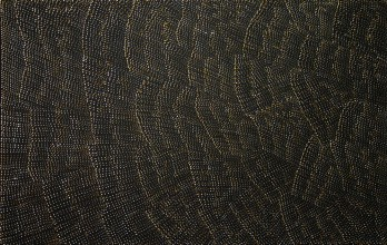Lily Kelly Napangardi Tali Sand Hills Australian Aboriginal Art Painting on canvas LK1687