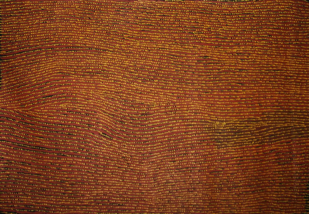 Willy Tjungurrayi Tali Australian Aboriginal Art Painting on canvas WT1685
